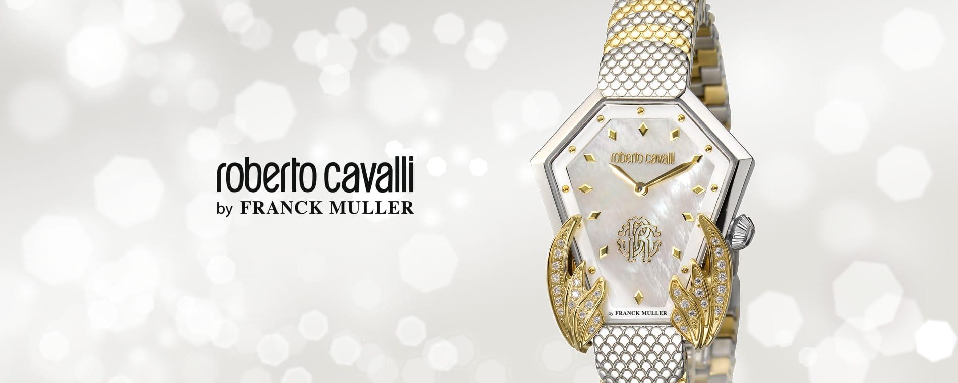 roberto cavalli by FRANCK MULLER(ロベルト・カヴァリ バイ フランク・ミュラー)